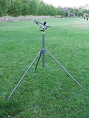 1 Yuzuak Atom28 Long Throw Jet Sprinkler Up To 180Ft Diameter W/tripod