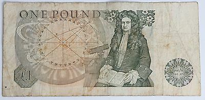 Bank of England One Pound Note Circulated PreLoved