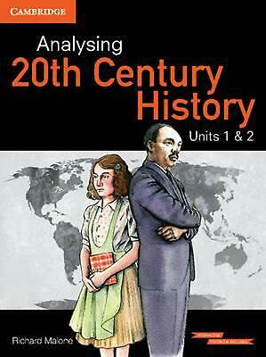Analysing 20th Century History Units 1&2 Interactive Textbook by Richard Malone