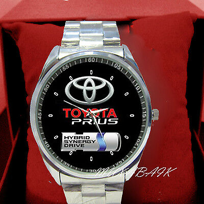 New Toyota Prius Stainless Metal Watch