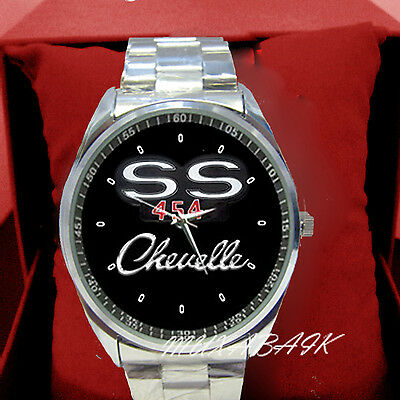 New vintage Chevelle 70 ss 454 Stainless Metal Watch
