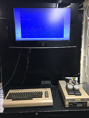 Commodore 64 TESTED FOR POWER ON~PADDLES~FREE SHIP