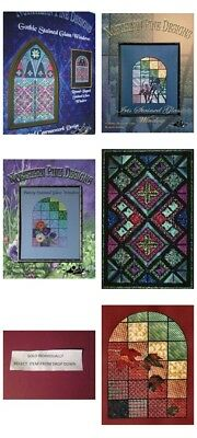 Northern Pine Stained Glass Canvaswork Chart Your Choice- Linda Lachance Designs