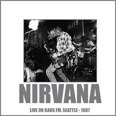 NIRVANA - Live On KAOS FM, Seattle - 1987. New LP + sealed ** NEW **