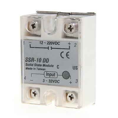 Solid State Relay Module SSR-10DD DC-DC 10A 3-32V 12-220V DC