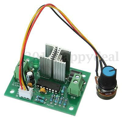 UK New 12V-36V 3A DC Motor Speed Regulator Controller Switch Control PWM HHO RC
