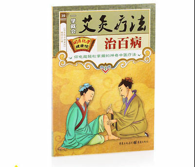 Moxibustion Manual Knowledge Moxibustion Therapy Book Chinese Illustrated Book