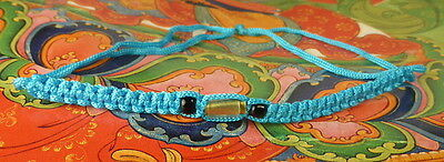 Buddha Sacred Sai Sin Blue Bracelet Blessed By Buddhist Monks Luck Protection
