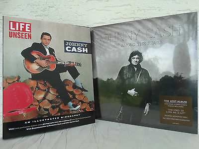Johnny Cash: Out Among The Stars LP&Life Unseen: An Illustrated Biography