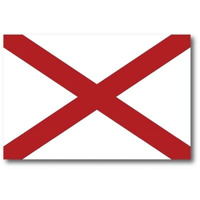 Alabama State Flag Magnet 4x6 inch US State Flag Decal for Car Truck or Fridge