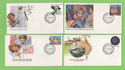 Australia 1984 Collection of eight different Postal Stationery Covers