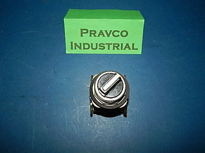 Allen Bradley 800T-H2 Selector Switch 2Position Series T With 2 Contact Blocks