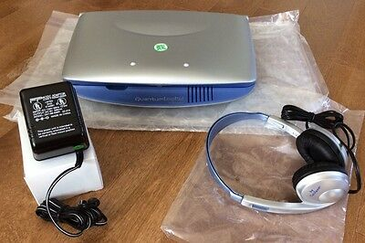 LEAPFROG Quantum LeapPad Plus Microphone Califone Headphones & Power Adapter NEW