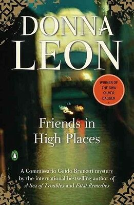 Friends in High Places by Donna Leon Paperback Book (English)