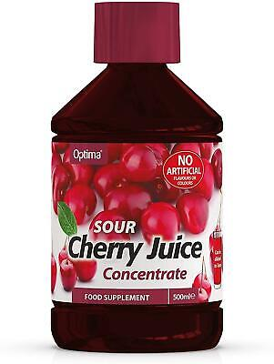 Optima Montmorency Cherry Juice Super Concentrate Active Live 500ml