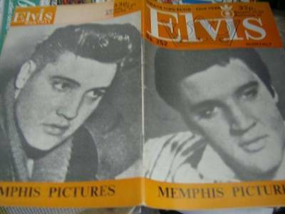 Elvis Monthly UK Booklets- 22nd Year -1981- 6 Issues- #252/253/254/255/256/257