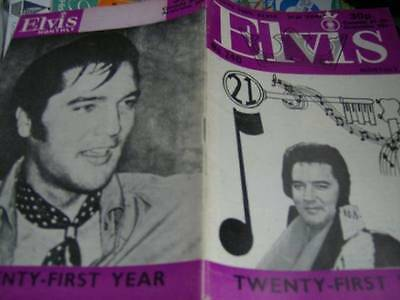 Elvis Monthly UK Booklets- 21st Year -1980- 6 Issues- #240/241/242/243/244/245