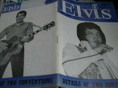 Elvis Monthly UK Booklets- 20th Year -1979- 6 Issues- #234/235/236/237/238/239