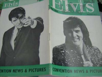 Elvis Monthly UK Booklets- 18th Year -1977- 6 Issues- #204/205/206/207/208/209