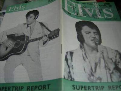 Elvis Monthly UK Booklets- 16th Year -1975- 6 Issues- #180/181/182/183/184/185