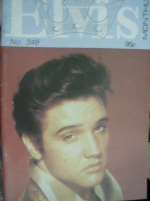 Elvis Monthly UK Booklets- 30th Year -1989- 3 Issues- #348/349/352