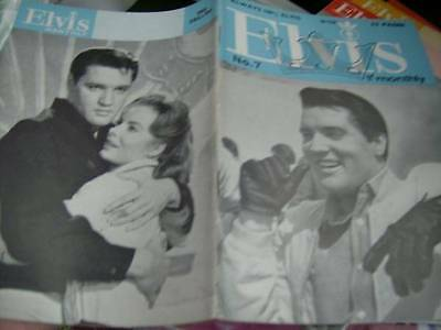 Elvis Monthly UK Booklets- 6th Year -1965- 6 Issues- #7/8/9/69/70/71