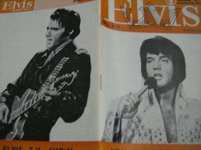 Elvis Monthly UK Booklets- 18th Year -1977- 6 Issues- #210/211/212/213/214/215