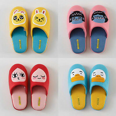 [KAKAO FRIENDS] Kakao Talk Characters Applique Home Slippers +Tracking