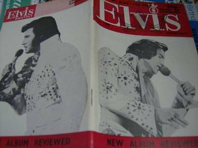 Elvis Monthly UK Booklets- 17th Year -1976- 6 Issues- #199/200/201/202/203/Vinta