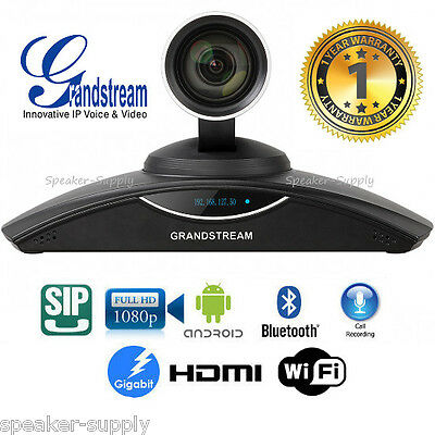 MAKE OFFER!! Grandstream GVC3200 1080p HD Video Conferencing System SIP WiFi