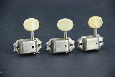 1960's Vintage Original Kluson Double Line Treble Side Tuners For Gibson Es 330
