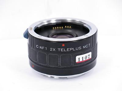 Kenko C-AF1 2x Teleplus MC7 Teleconverter for Canon EF from Japan free shipping