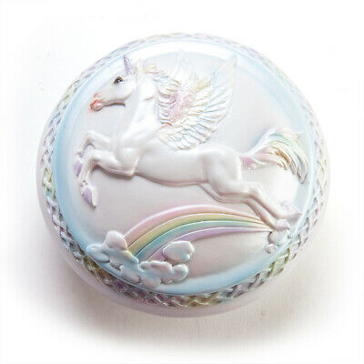 Flying Unicorn with Rainbow Trinket Jewellery Box, Cute Girls Gift!