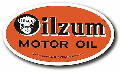 Oilzum Oil Super High Gloss Outdoor 4.5 X 2.75 Oil Decal Sticker