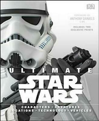 Ultimate Star Wars by Dk (English) Hardcover Book Free Shipping!