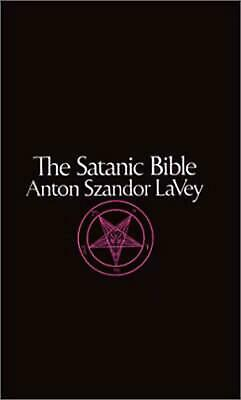 The Satanic Bible by Anton Szandor Lavey (English) Mass Market Paperback Book Fr