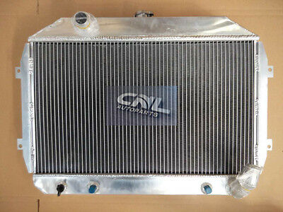 3 Row Alloy Radiator Datsun 70-73 71 72 240Z 74-75 260Z L24 L26 Dpi110 AT MT