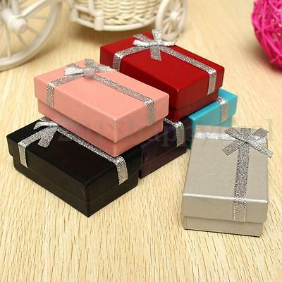 12Pcs Jewellery Gift Box Bracelet Necklace Display Pendant Earring Storage Case