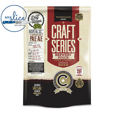 Mangrove Jack's Craft Series American Pale Ale Pouch - 2.5kg - Home Brew