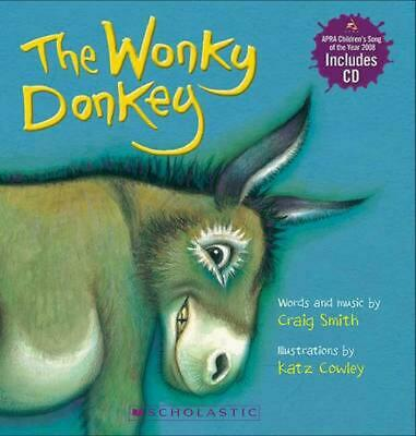 The Wonky Donkey by Craig Smith Board Book Book Free Shipping!