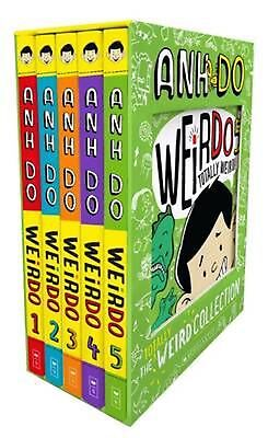 Totally Weird Collection! WeirDo Books 1 - 5 by Anh Do Paperback Book