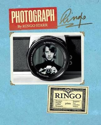 Photograph by Ringo Starr (English) Hardcover Book Free Shipping!
