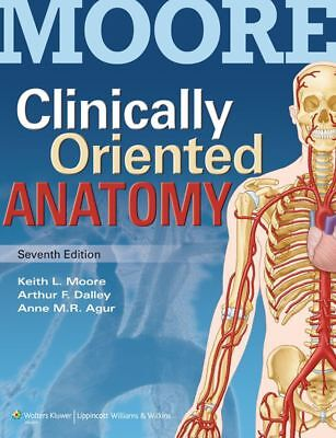Clinically Oriented Anatomy with Access Code by Keith L. Moore Paperback Book (E
