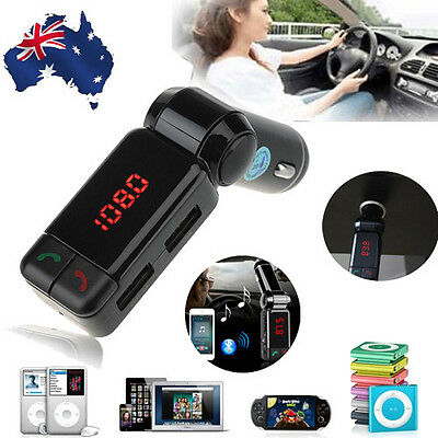 Bluetooth MP3 Player FM Transmitter USB Car Kit Charging for iPhone 5 6S Samsung