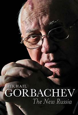 The New Russia by Mikhail Gorbachev (English) Hardcover Book Free Shipping!