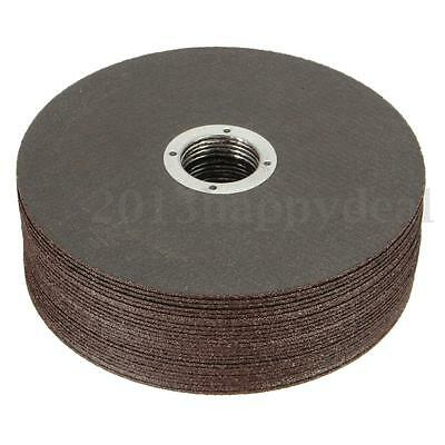 """25 x 115mm 4.5"""" Thin Metal Cutting Slitting Discs Stainless Steel Angle Grinder"""