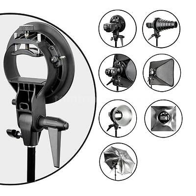 Godox S-Type Bracket Bowens Speedlite Flash Snoot Softbox Umbrella Mount Holder