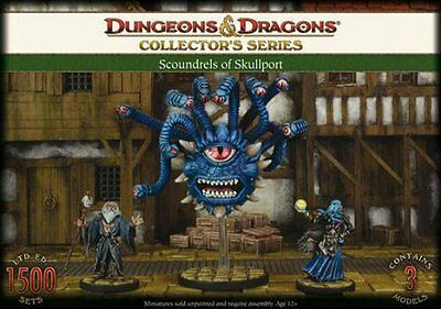 Dungeons and Dragons Collector's Series  SCOUNDRELS OF SKULLPORT