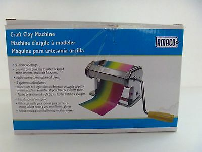 Amaco Craft Clay Machine Handle Table Clamp With Box