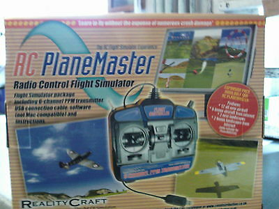 RCSIM41 Mode 2 RC Planemaster Radio Control Flight Simulator